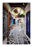 Frühmorgens in Naxos-Stadt