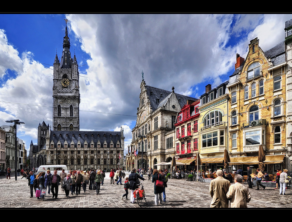 Frühsommer in Gent, Belgien