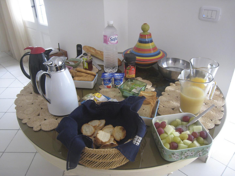 Frühstück ...
