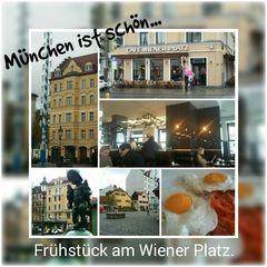 Frühstück am Wiener Platz