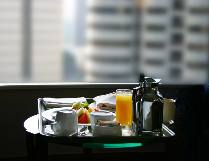 Frühstück im Shangri-La Hotel Kuala Lumpur