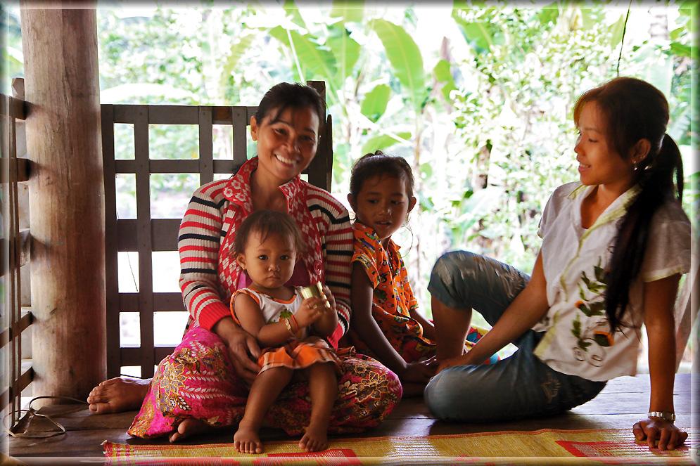 Frühstück in Cambodia