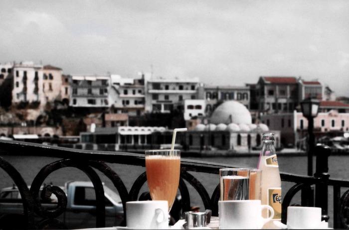 Frühstück in Chania