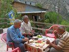 Frühstück in einem türkischen Dorf im Osten.