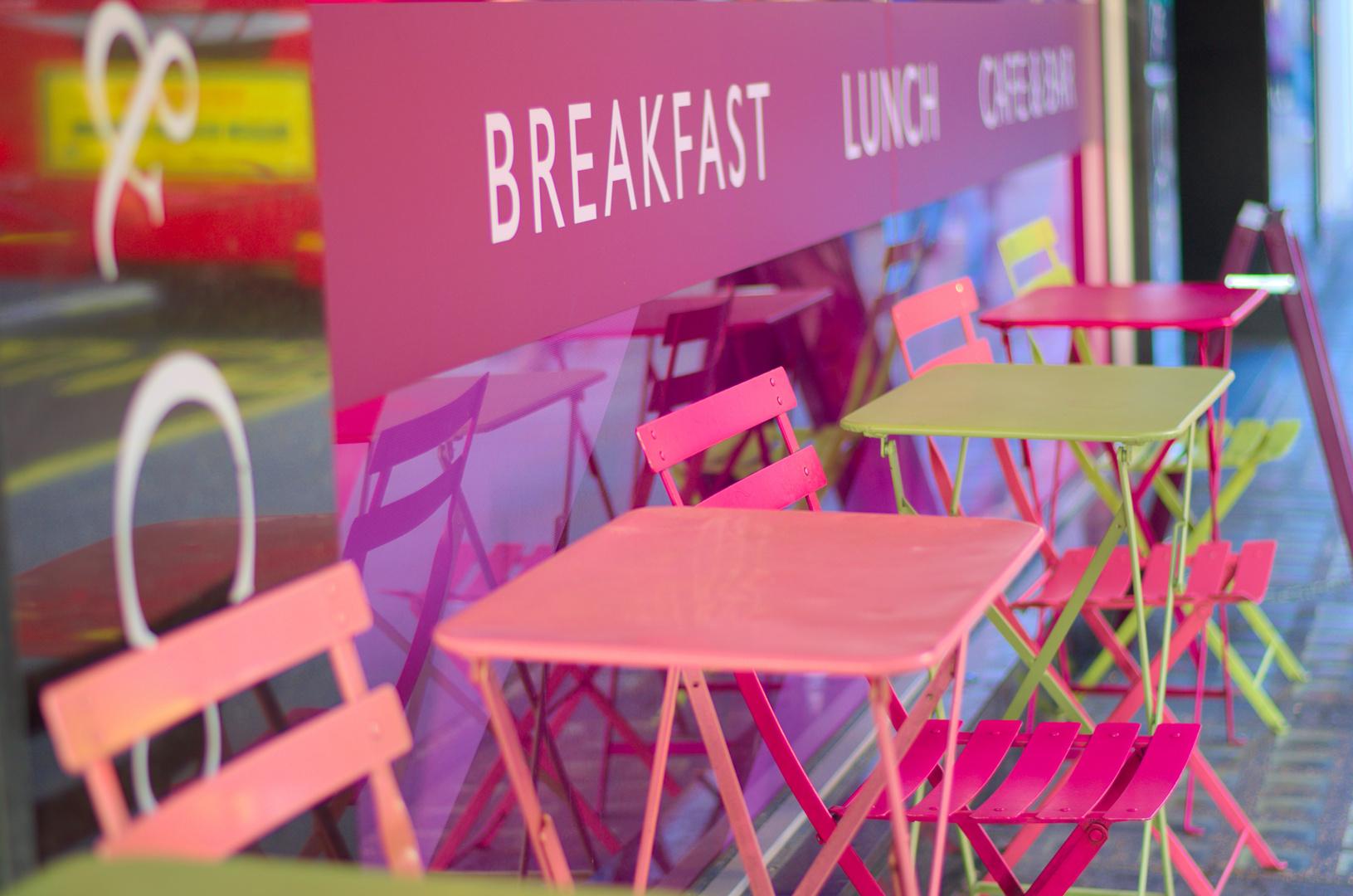 Frühstück in London