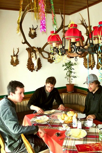frühstück in österreich
