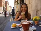Frühstück in Rom