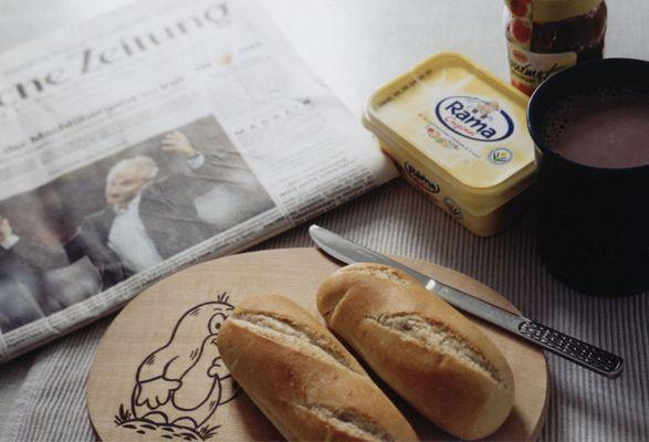 Frühstück mit Rudi Ratlos