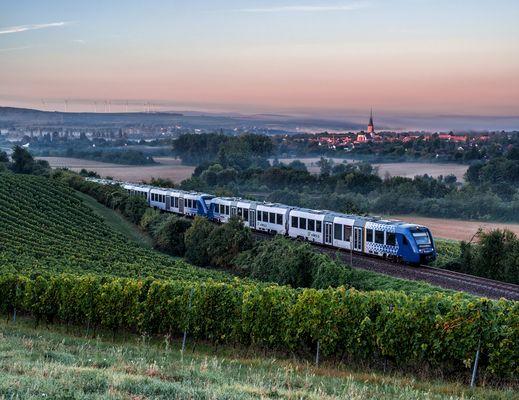 Frühzug nach Frankfurt