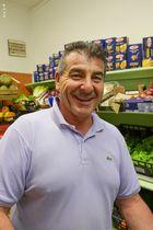 Fruit store shopman,Bergamo