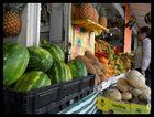 Frutas frescas, en la plaza