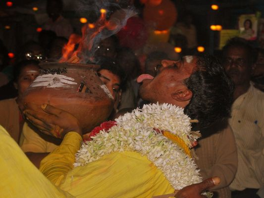 fête de Cali à Coonoor (Tamil Nadu India)