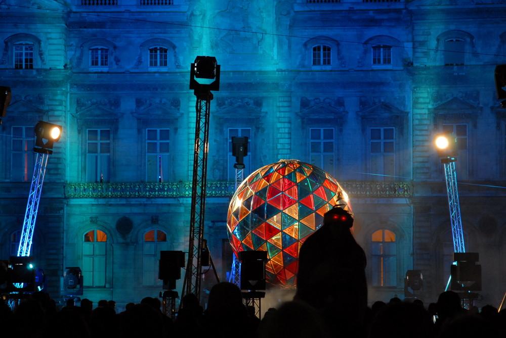 fête des lumieres 2007 Lyon place des Terreaux