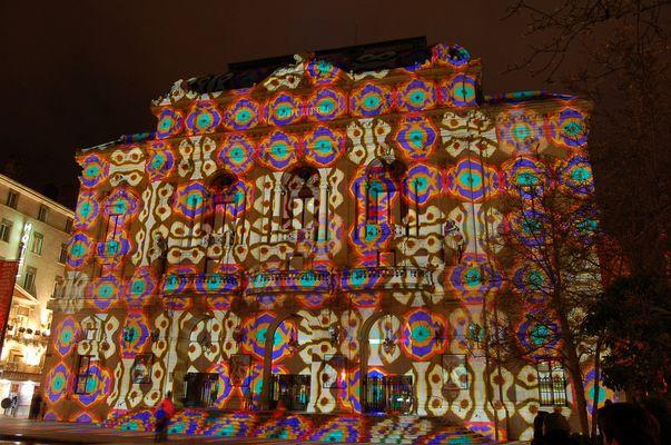 Fête des lumières Lyon déc 2007