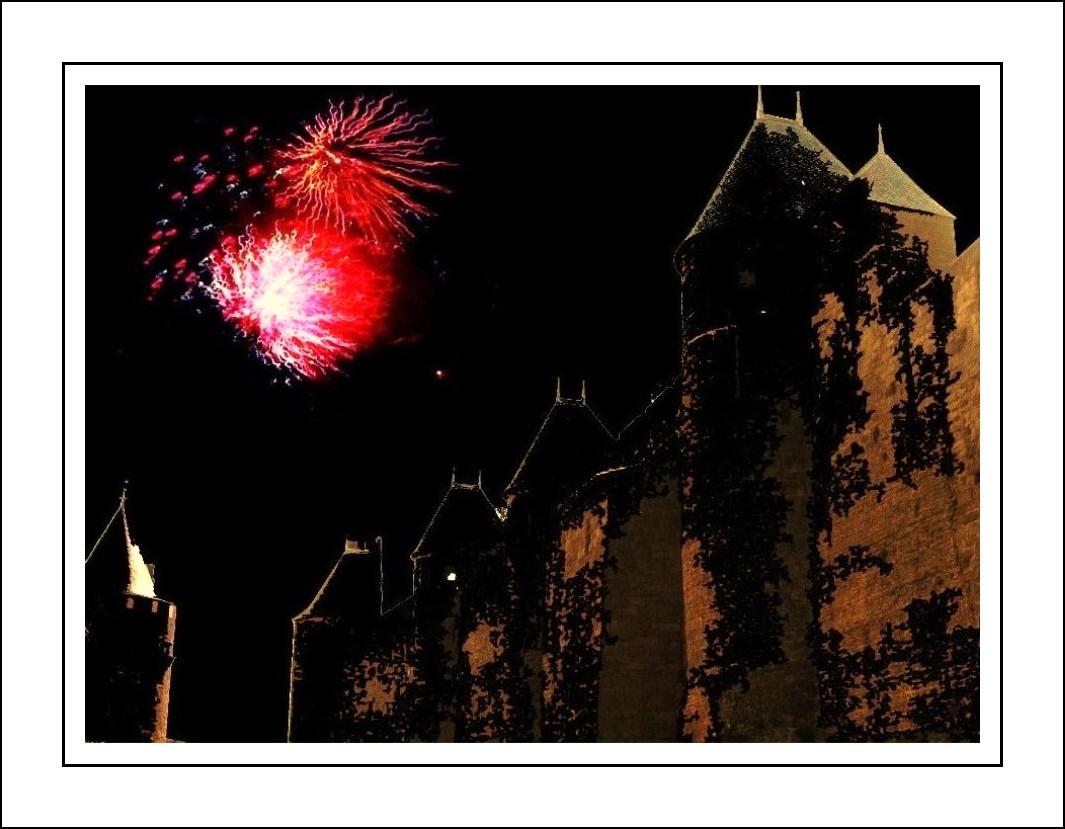 Fêtes noctunes à Carcassonne