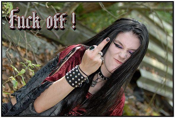 Fuck off!