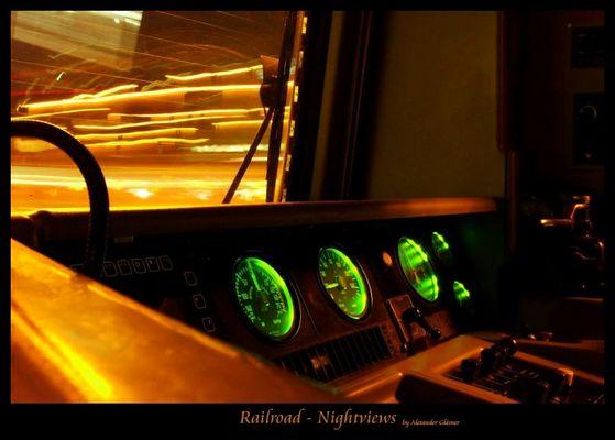 Führerstand BR 143