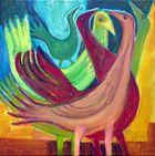 Fünf Vögel