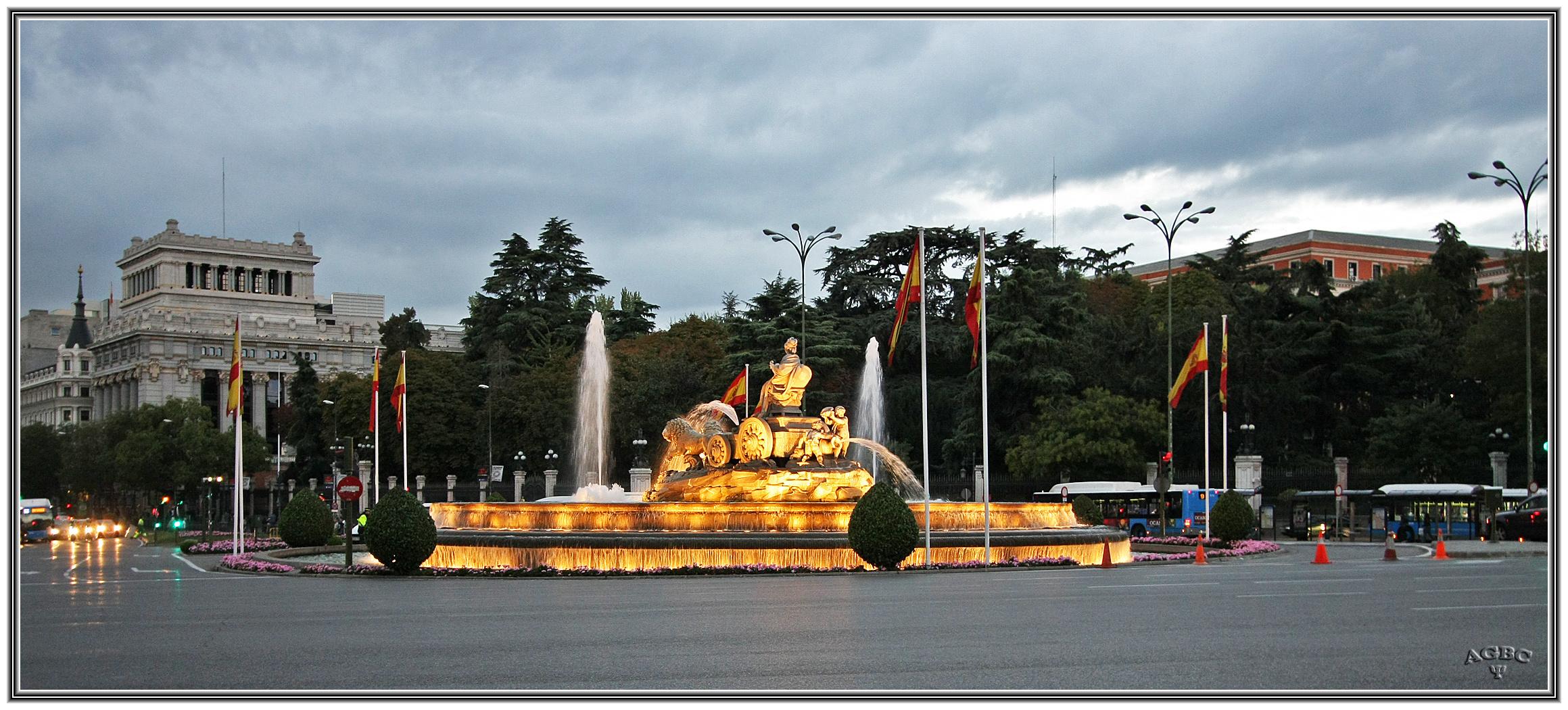 Fuente de Cibeles, Madrid. GKM5-I