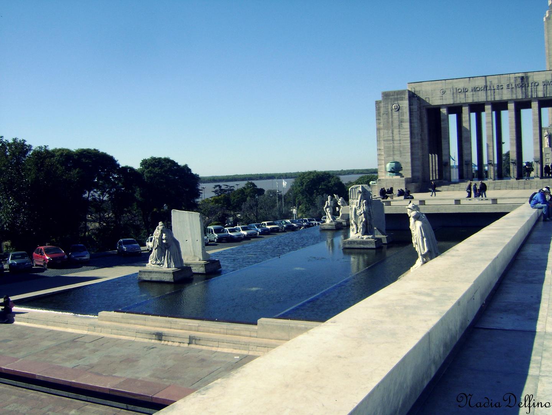 Fuente del Monumento a la Bandera