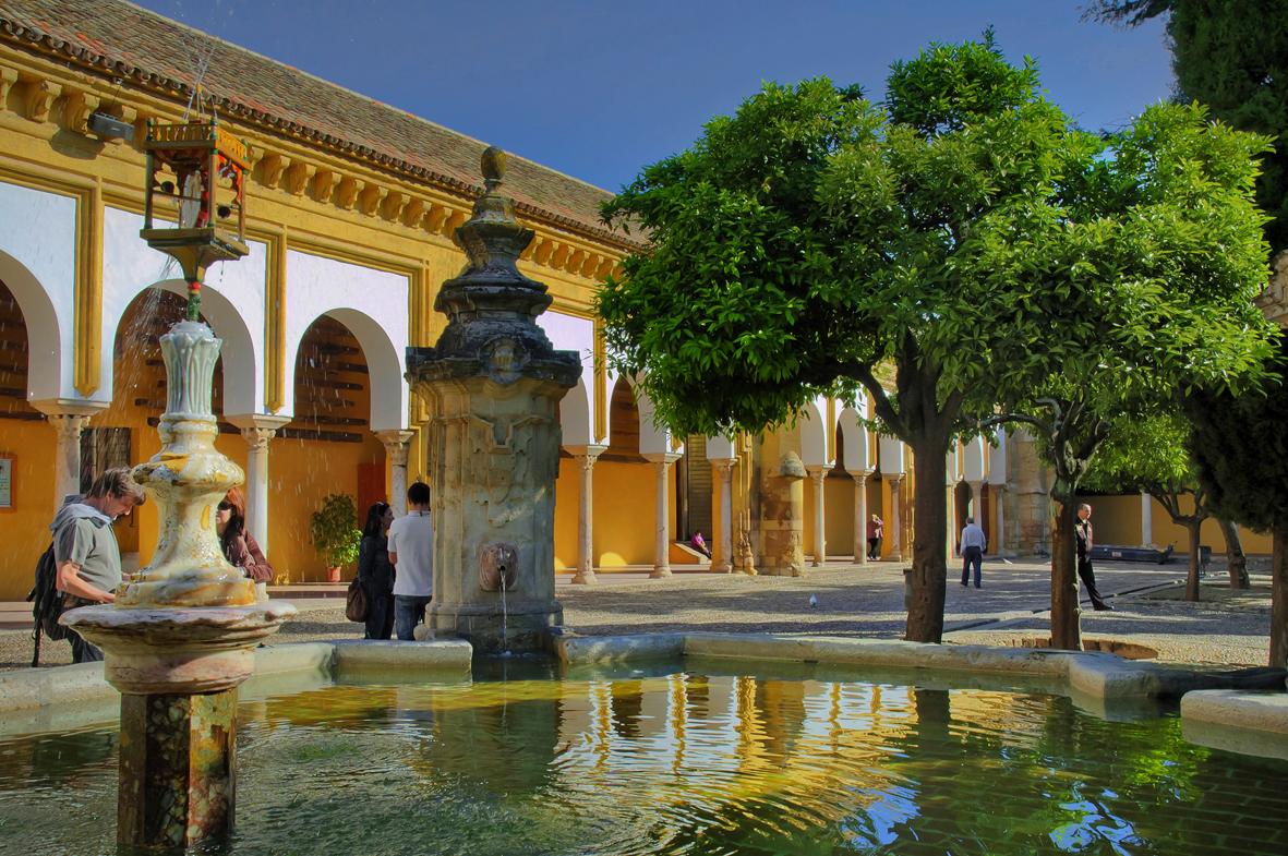 Fuente del patio de los naranjos imagen foto ciudades - Fuentes de patio ...