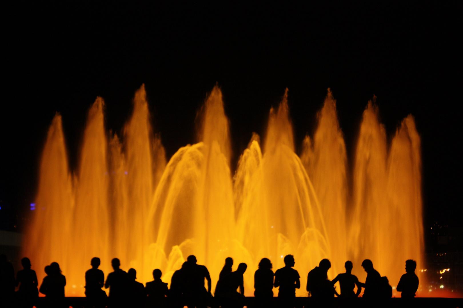 Fuente Luminosa de Montjuic