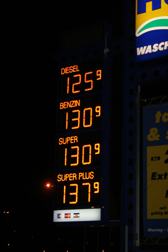 Für alle Dieselfahrer...