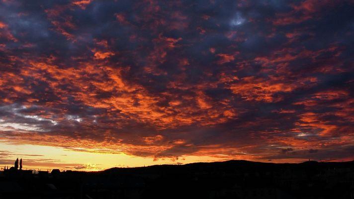 Für dich.... Sonnenuntergang am 06.10.08