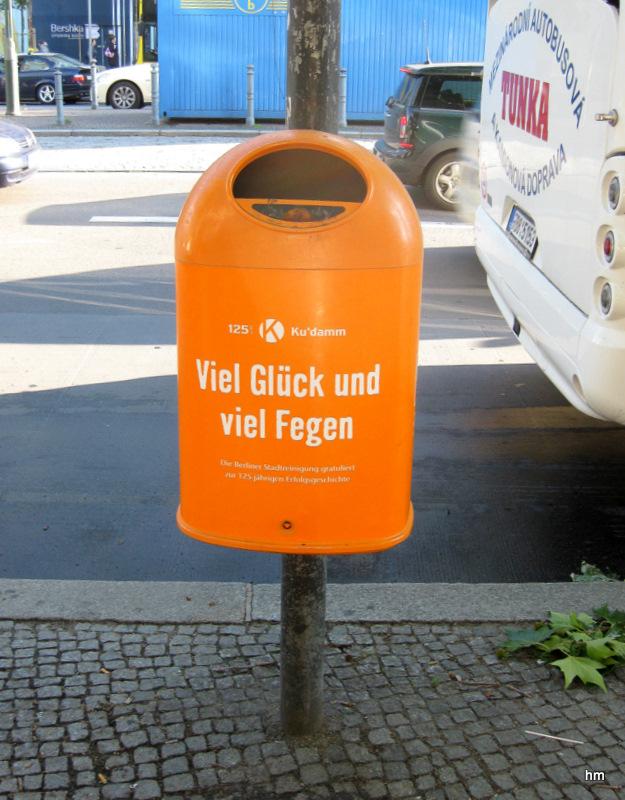 Für die Deutschsprachigen:: Noch ne Mülltonne