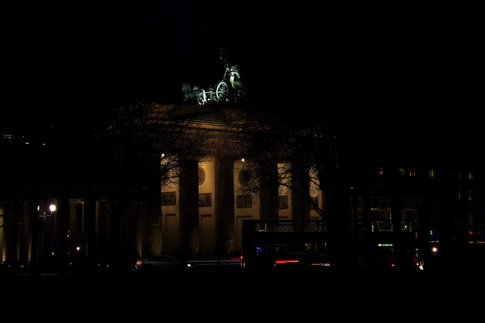 Für die Einen das Brandenburger Tor ...