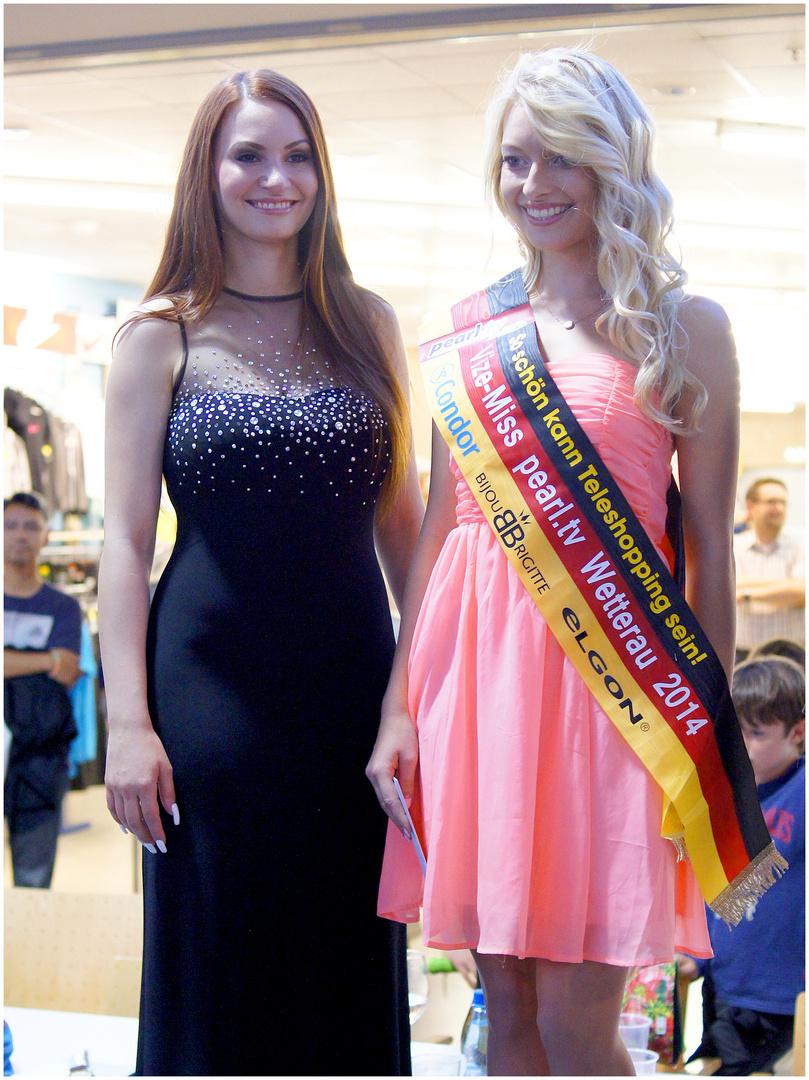 Für die Miss-Hessen-Wahl qualifiziert ...