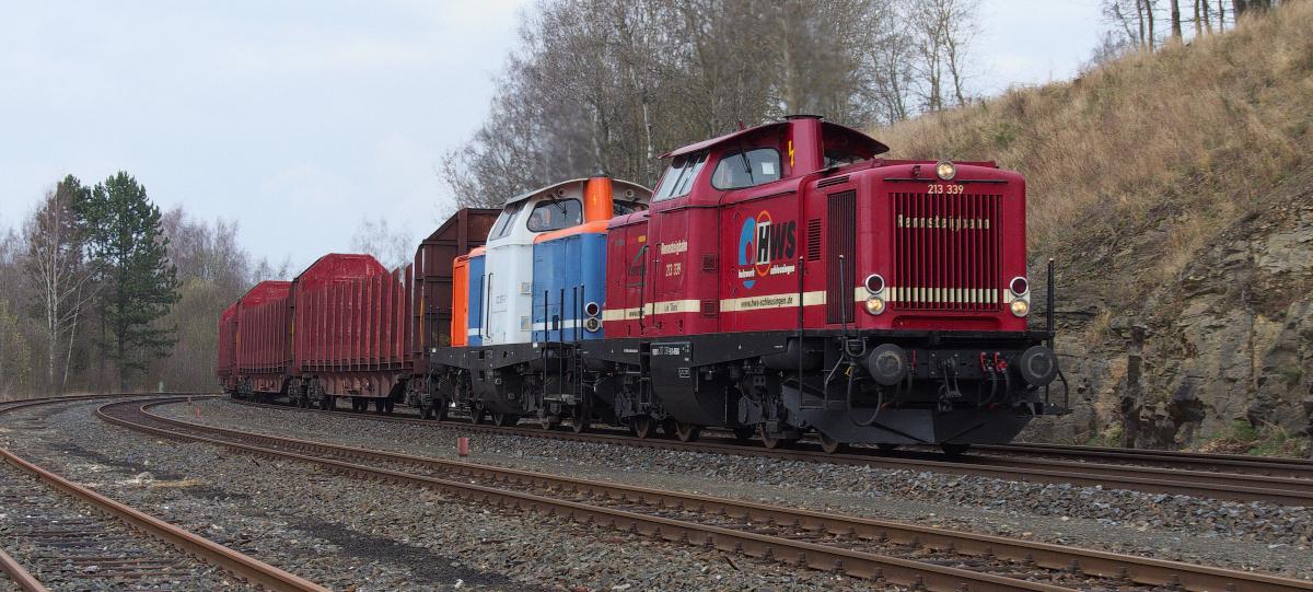 Für Güterverkehr ist noch viel Luft...