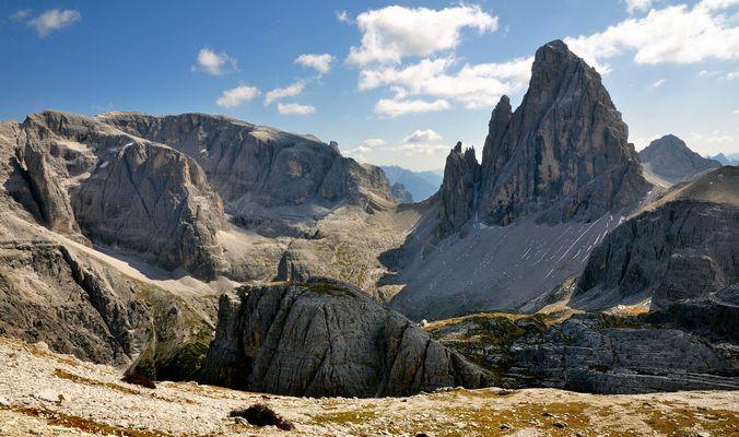 Für mich ist der Zwölferkofel der beeindruckenste Gipfel in den Sextener Dolomiten...