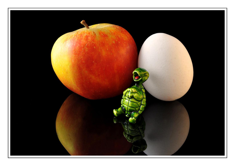 Für 'nen Appel und 'n Ei ....*