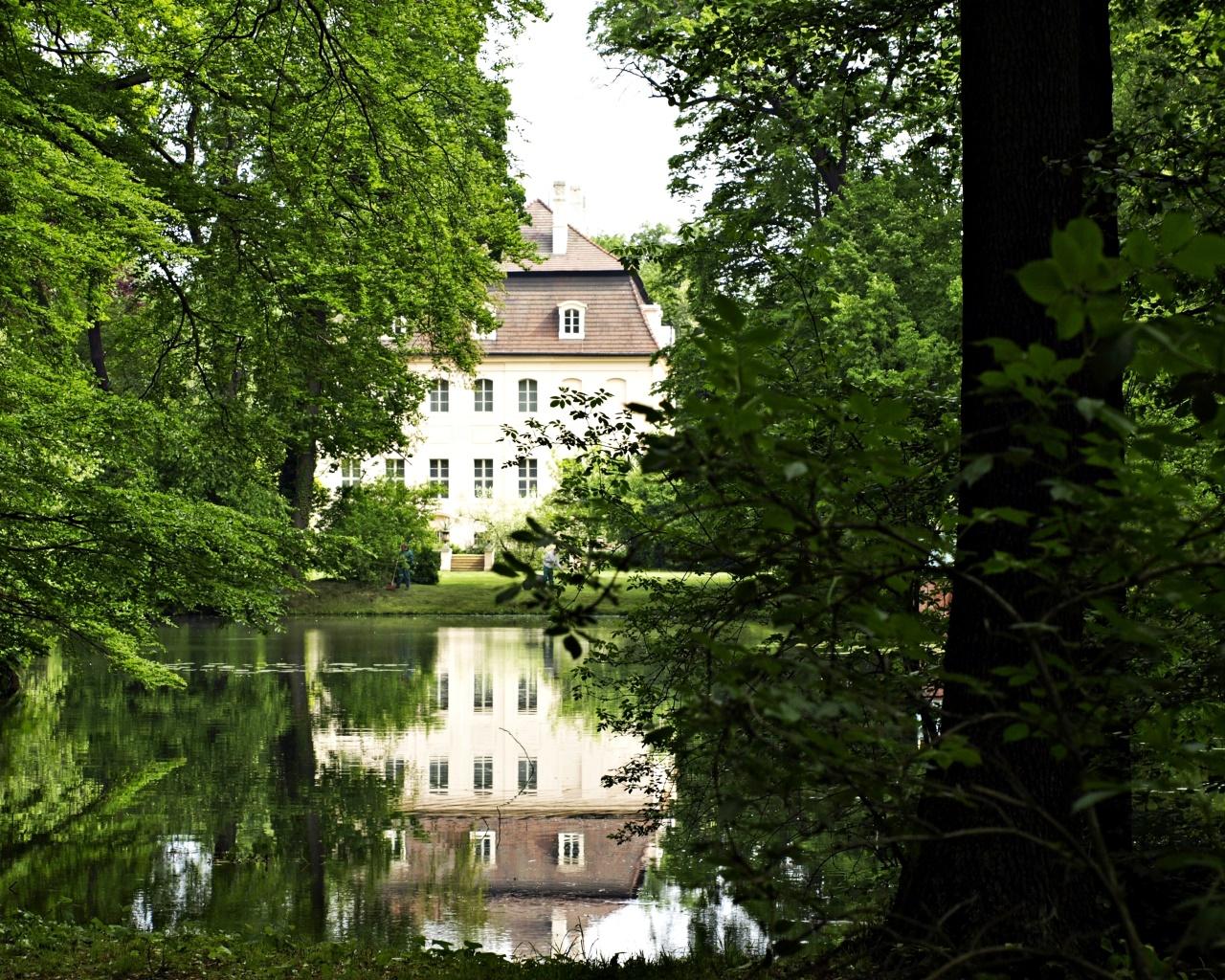 Fürst-Pückler-Park Branitz 4/das Schloss