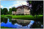 Fürst-Pückler(Eis)-Schloss Branitz am 09. Juli 2014