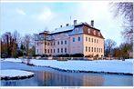 Fürst-Pückler(Eis)-Schloss Branitz am 7. Januar 2017