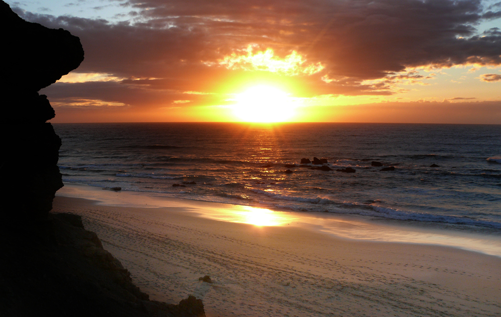 ...fuerte10...015...Sonnenuntergang in La Pared...