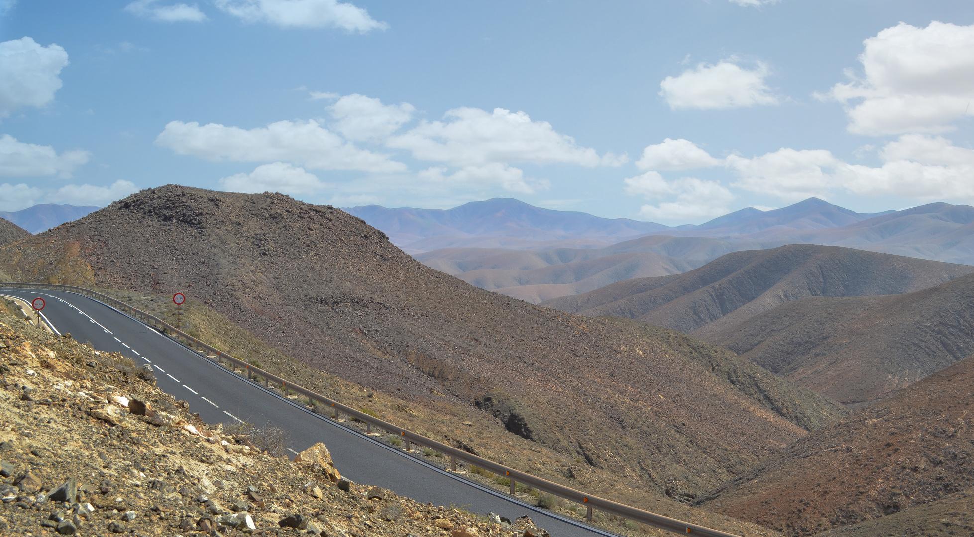 Fuerteventuras Berge