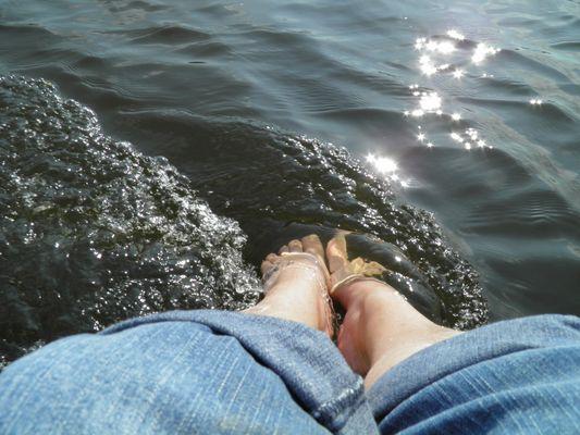 Füße baden