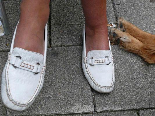 Füße im Doppelpack