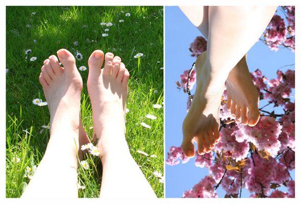 Füße on Holiday