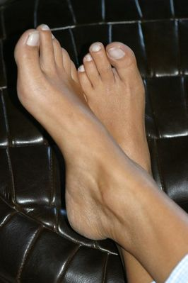 Füße von Ramona