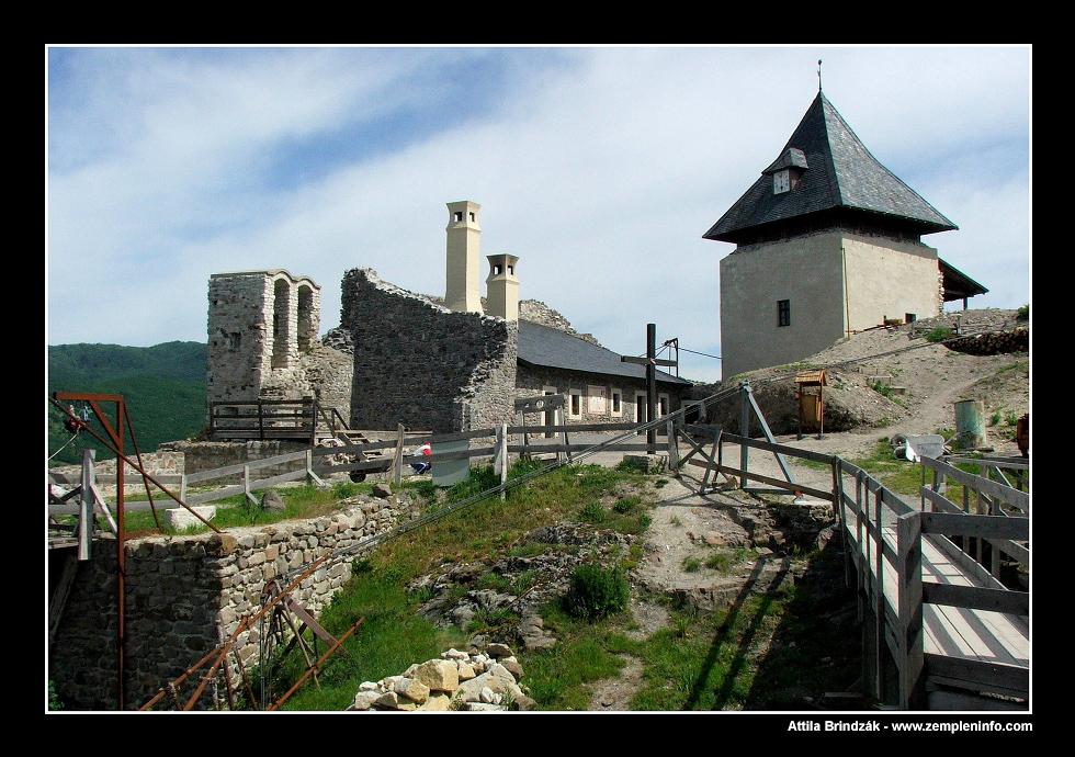 Füzer castle (Füzer/Hungary)