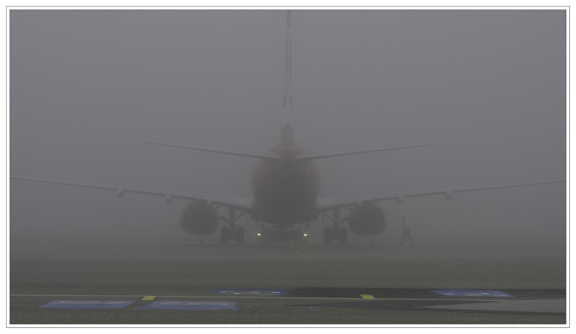 Fuhlsbüttel im Nebel