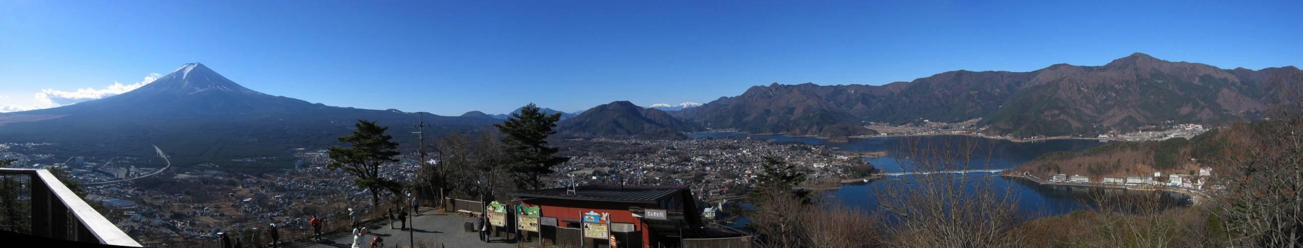 Fuji-san und der Kawaguchi See