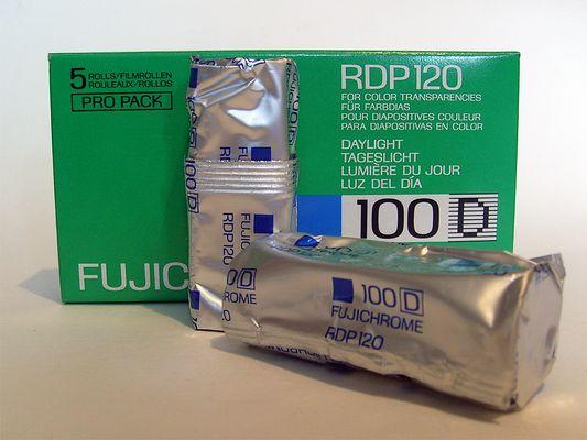 FUJICHROME RDP120 100D