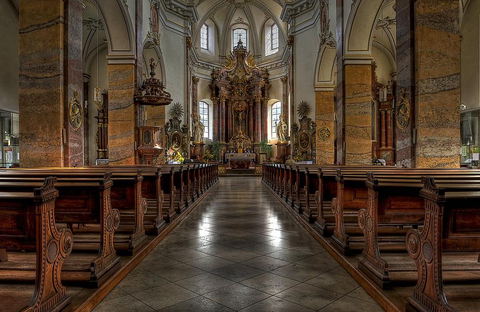 Fulda - Stadtpfarrkirche St. Blasius......