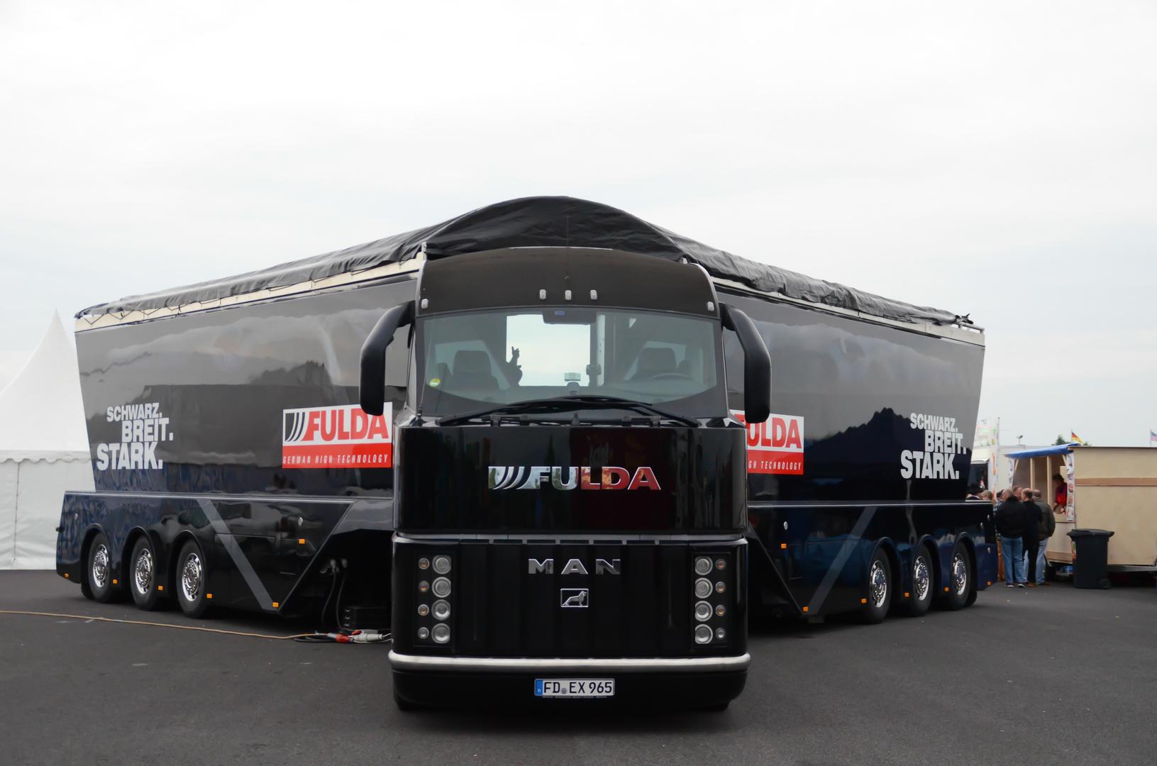 Fulda Truck von vorne