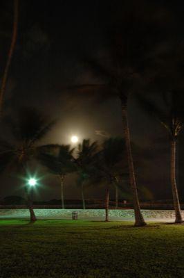 Full Moon over South Beach